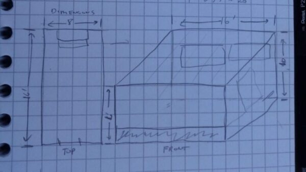Preliminary Greenhouse Sketch